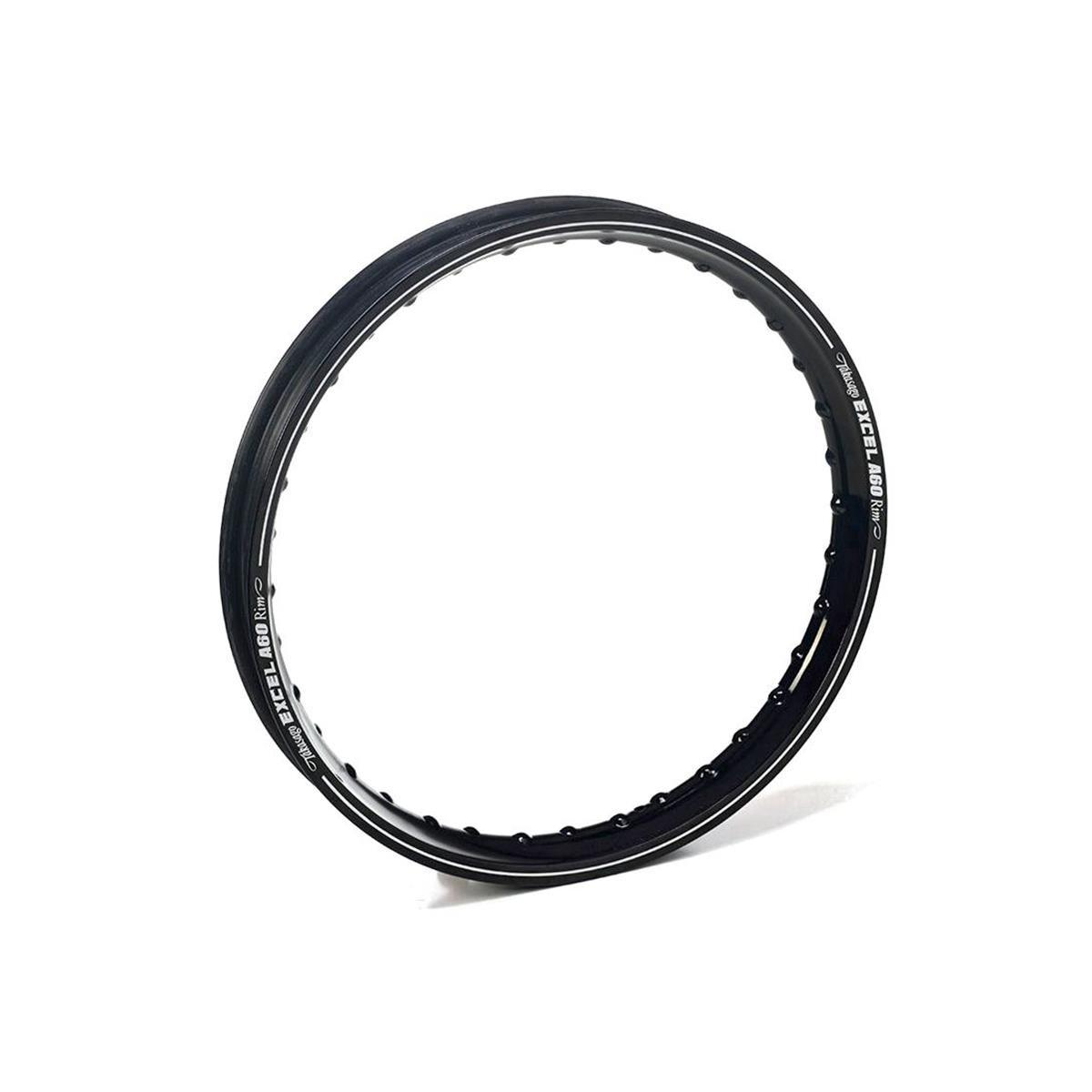 Excel Felgenring A60 Rims Rear, schwarz, 19 x 2.15, 36 Loch, KTM SX/EXC 125-525 02-13, Yamaha YZ 125/250, YZF/WRF 250/426/450