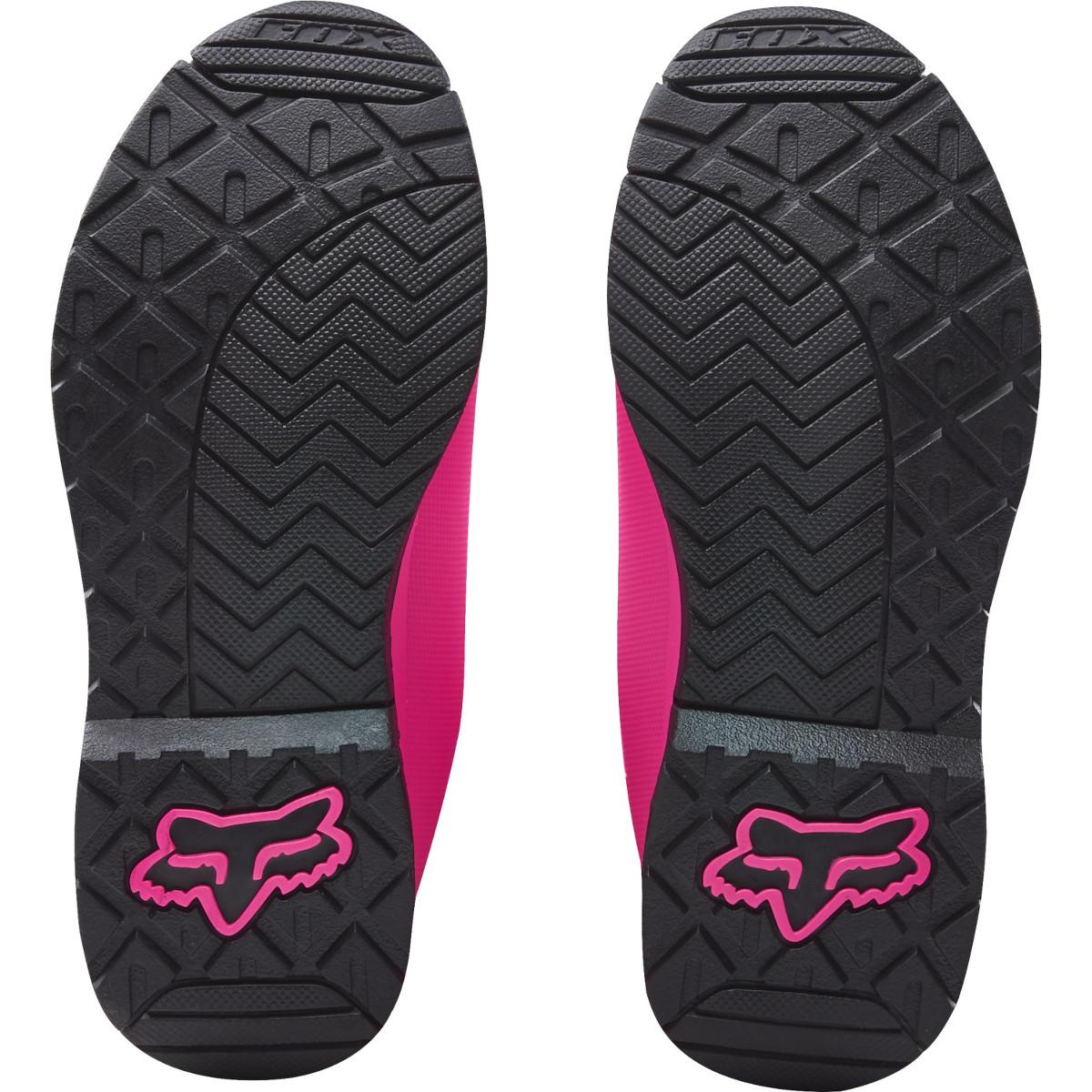 Fox Girls Motocross Stiefel Comp 5 SchwarzPink