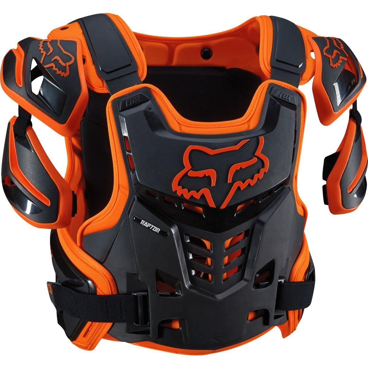 Fox Brustpanzer Raptor Vest Orange