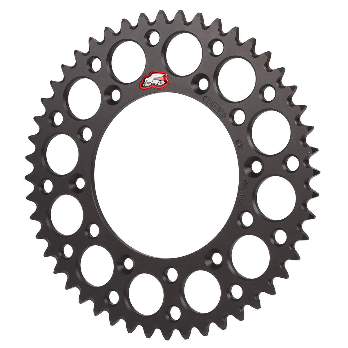 Renthal Kettenrad  KTM/Husqvarna, 520 Teilung, Aluminium, Schwarz, 48-52 Zähne