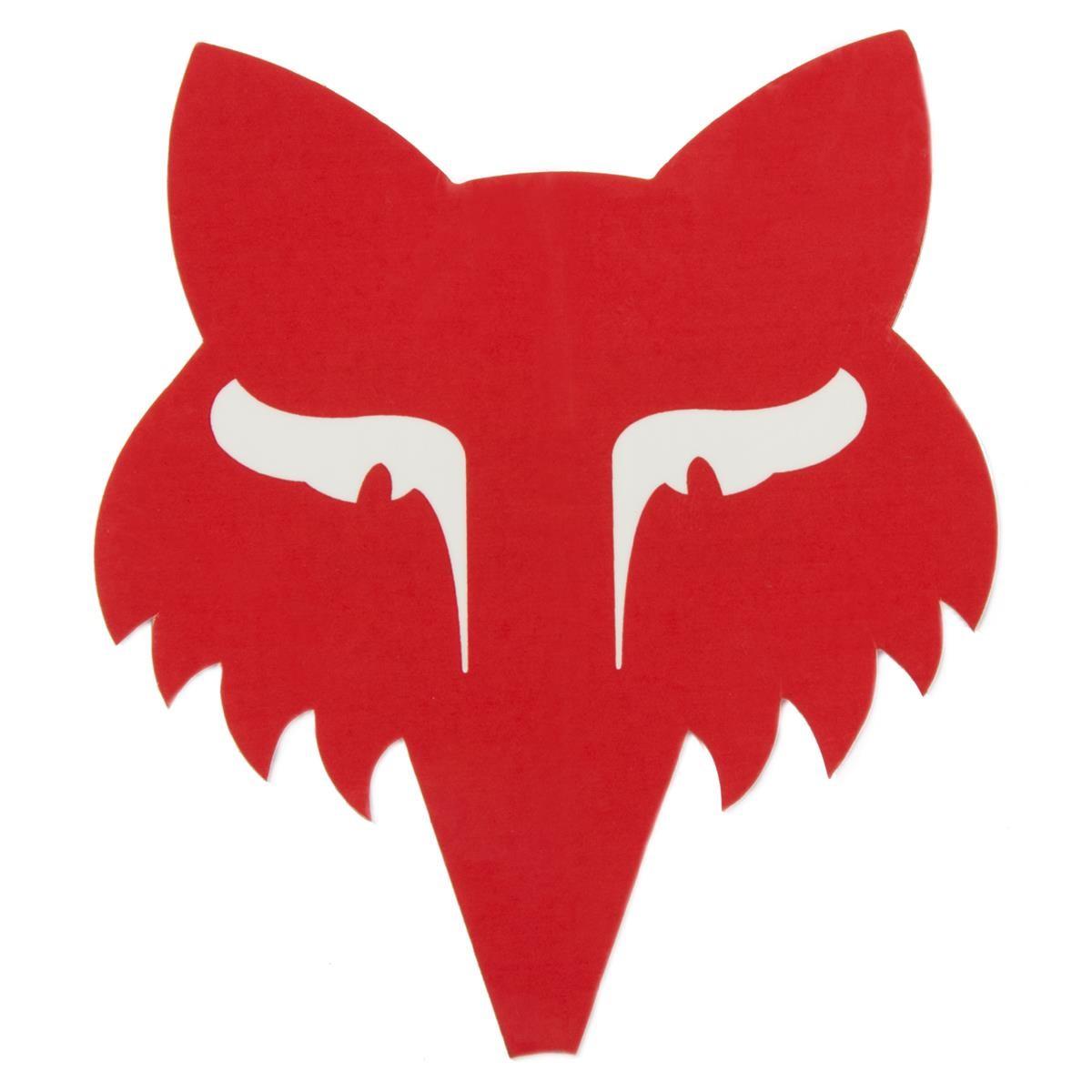 Fox Sticker Legacy Head Rot - 9 cm