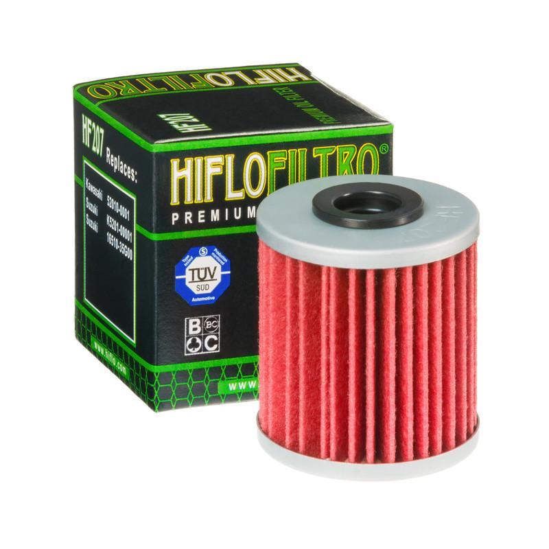 HIFLO Ölfilter HF 207 Beta Evo 250/300, Kawasaki KXF 250/450, Suzuki RMZ 250/450