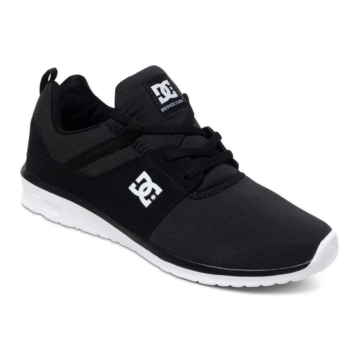 DC Schuhe Heathrow Schwarz/Weiß