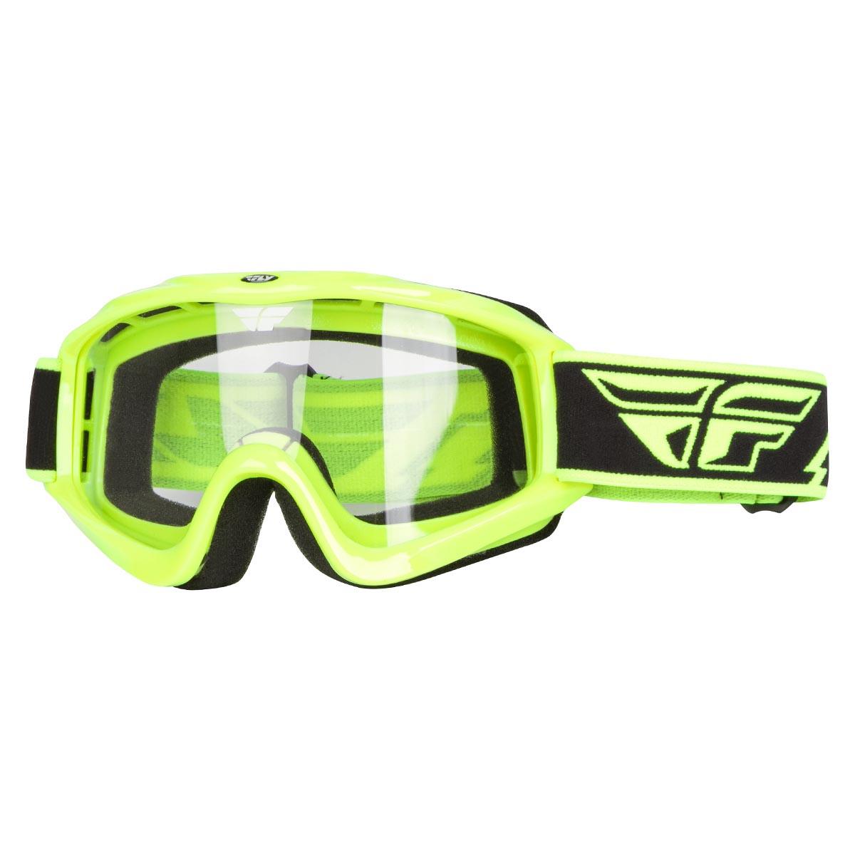 Fly Racing Crossbrille Focus Schwarz uCOQeBih