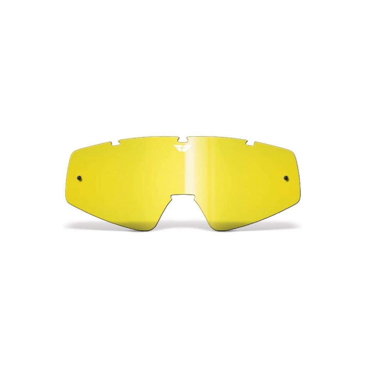 Fly Racing Ersatzglas Gelb