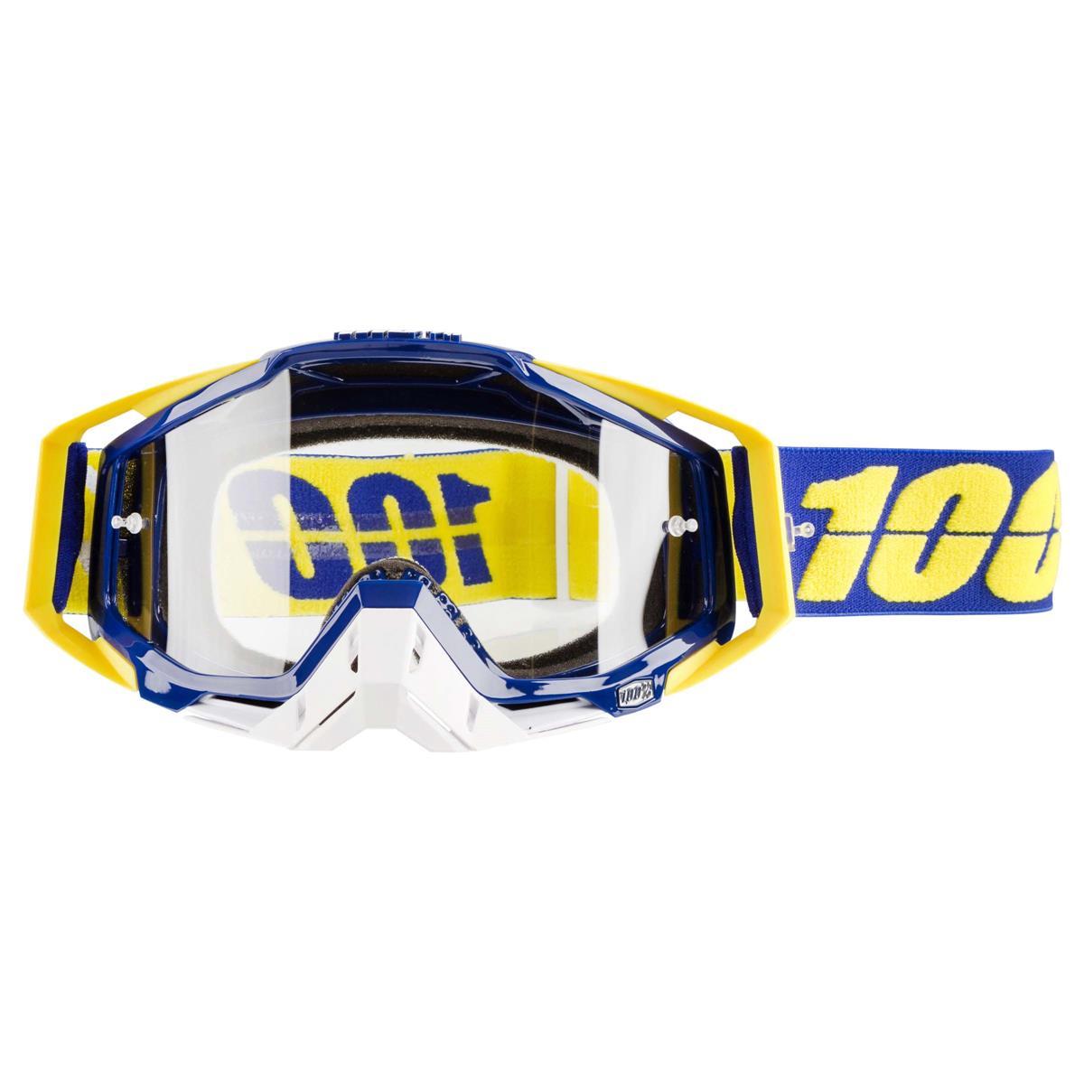 100% Crossbrille The Racecraft Lindstrom - Klar Anti-Fog