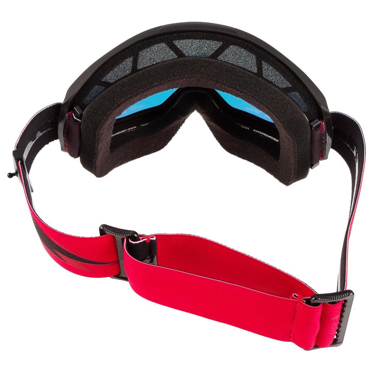 SLASH w// Anti-Fog Mirror Red Lens 100/% MX Motocross STRATA Goggles