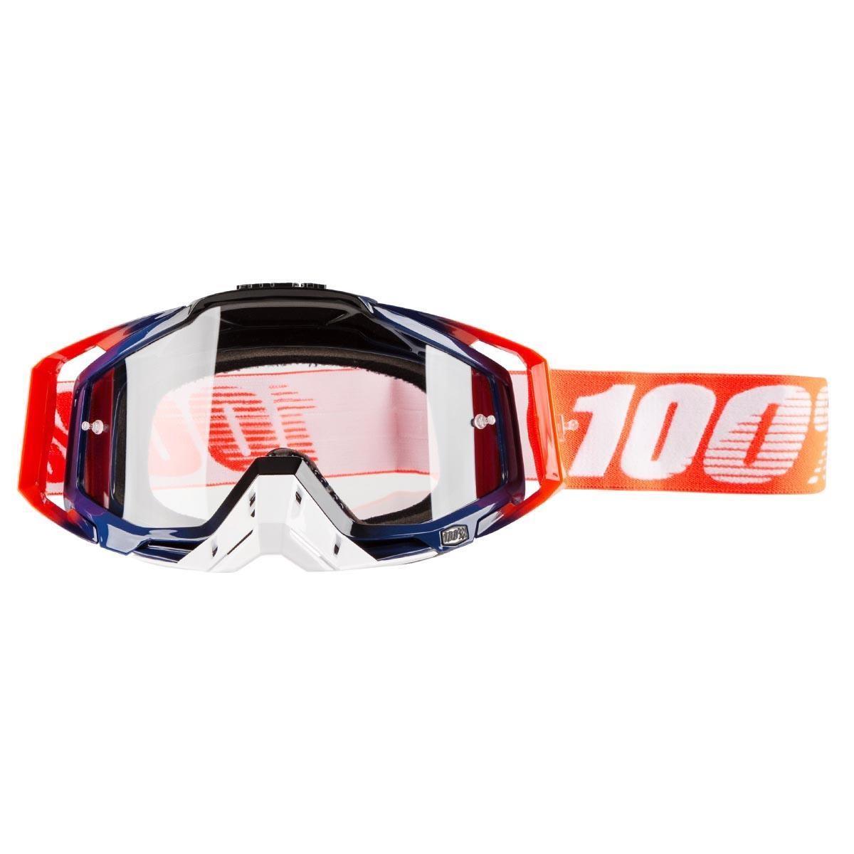 100% Crossbrille The Racecraft Crush - Klar