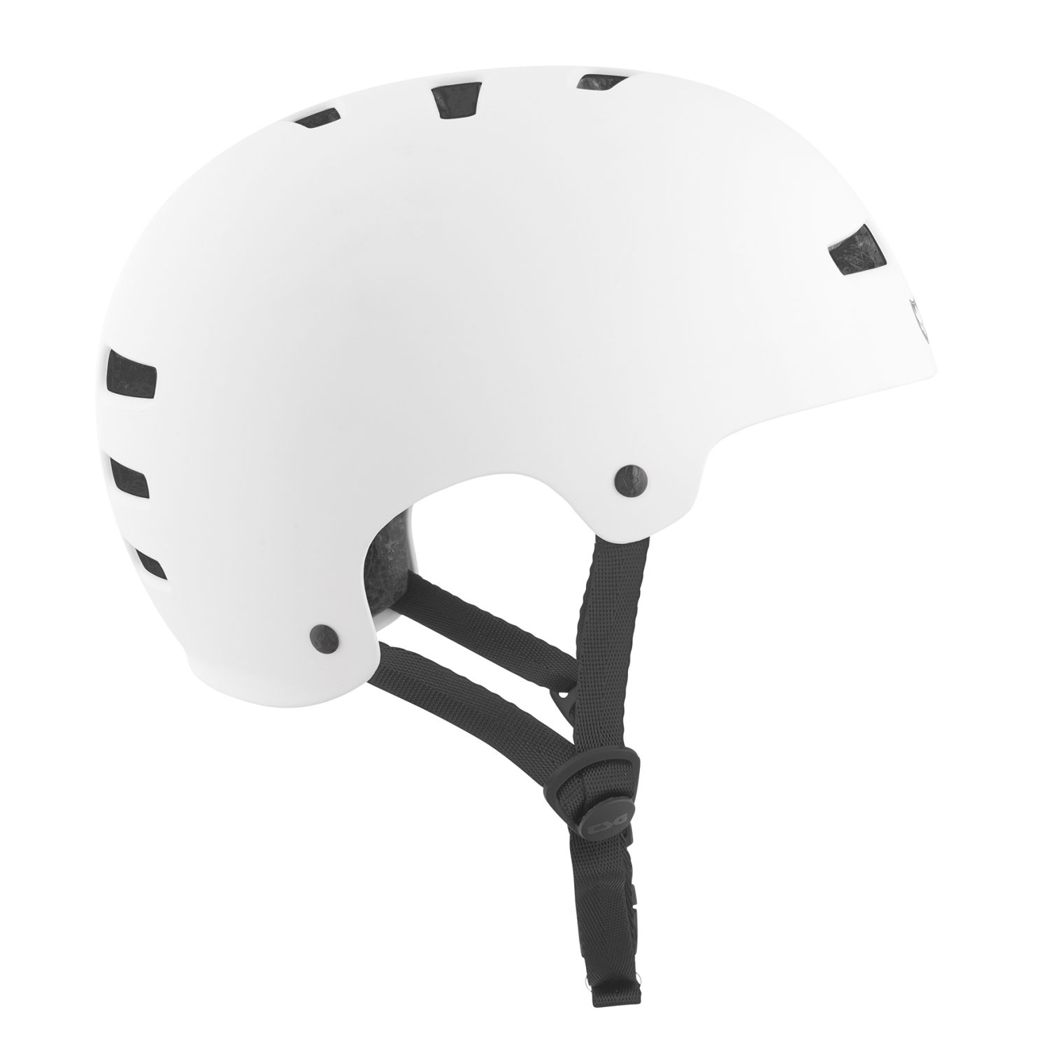 TSG Bmx/Dirt Casco Solid Evolution Solid Casco Color-Satin Bianco 989a88