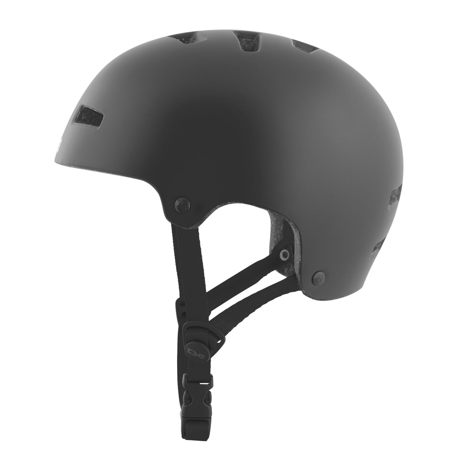 TSG Kids BMX Dirt casco Nipper mini Solid Solid Solid Color-satén negro 650911
