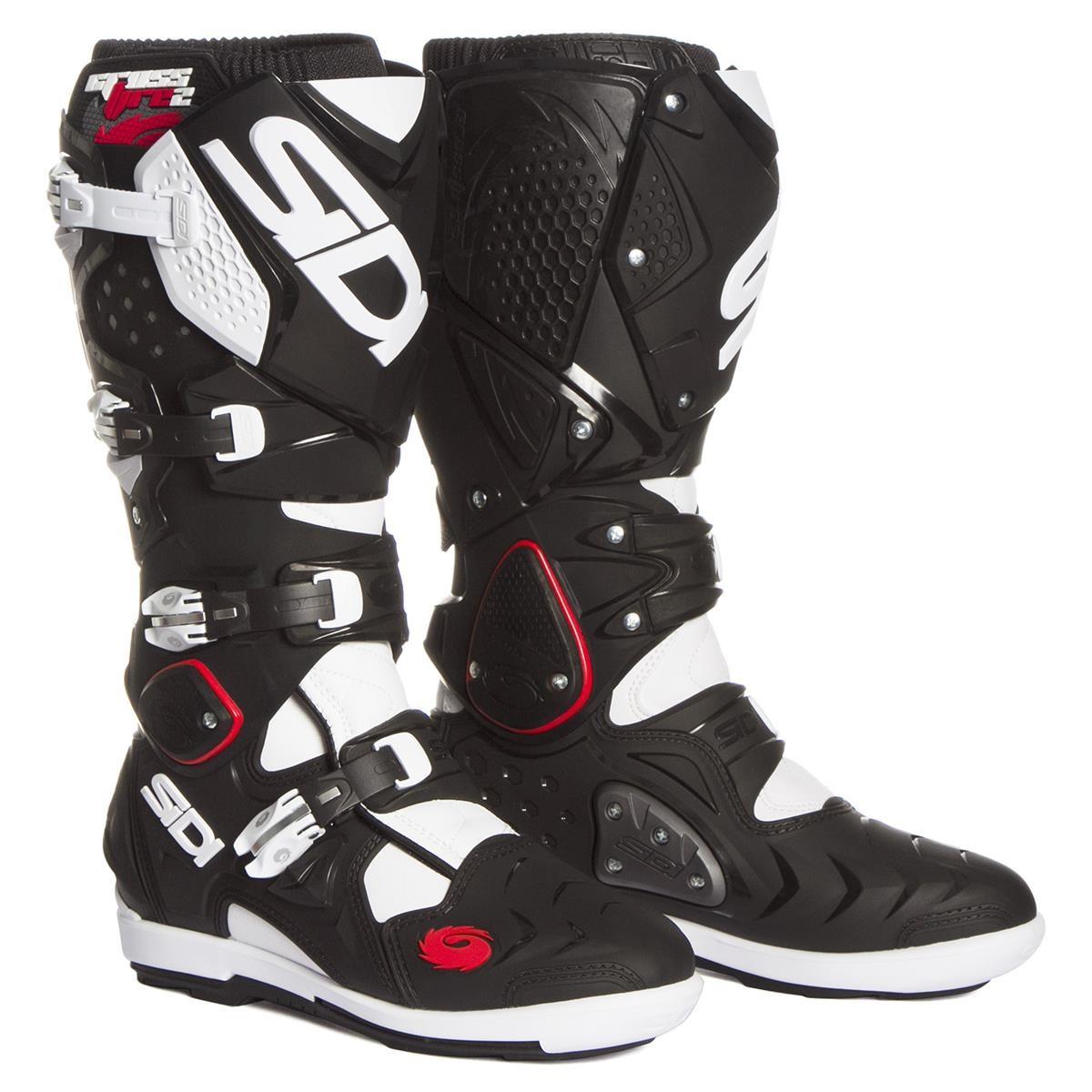 Sidi MX Boots Crossfire 2 SRS BlackWhite