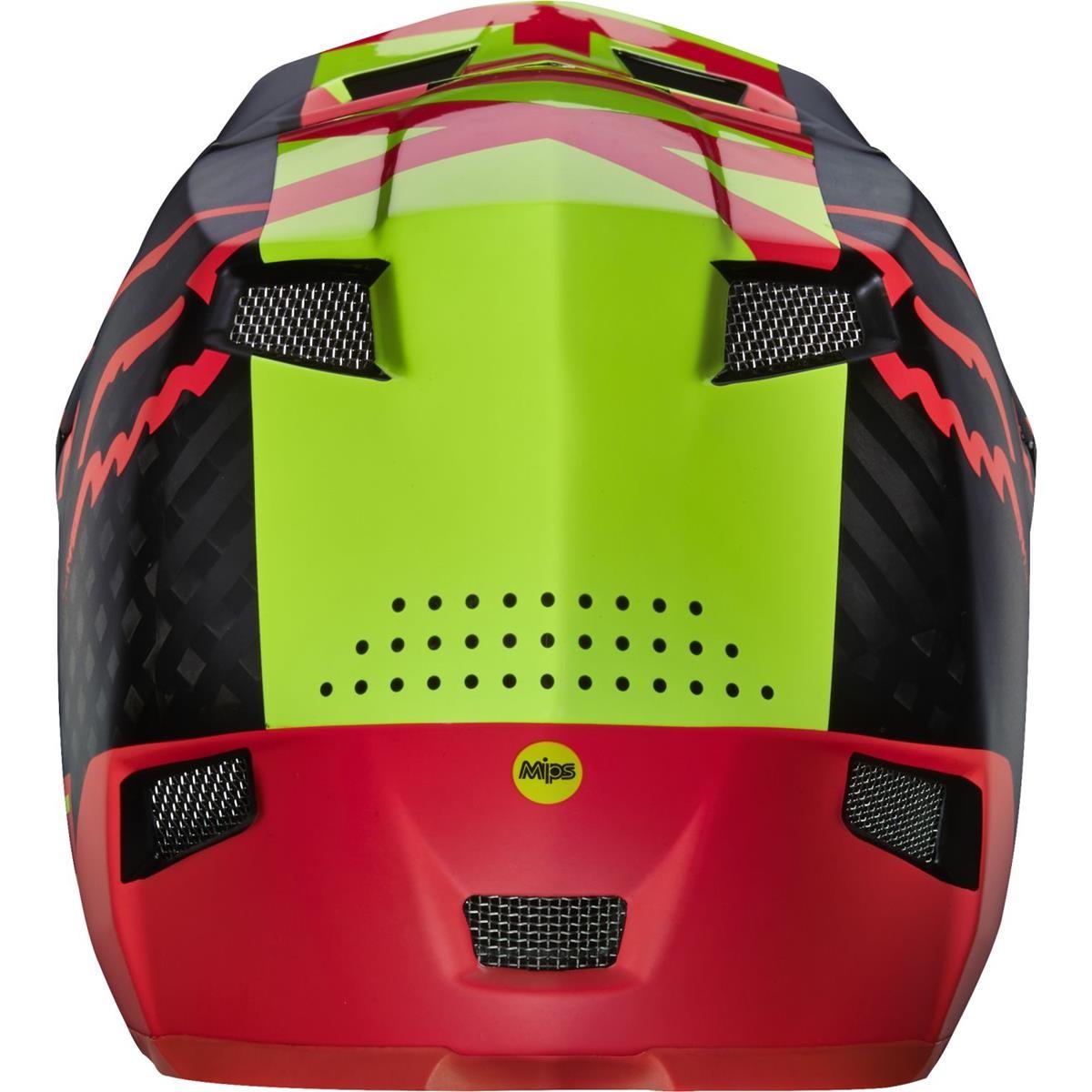 Fox Downhill MTB Helmet Rampage Pro Carbon Libra - Red Spring 2016 | Maciag  Offroad