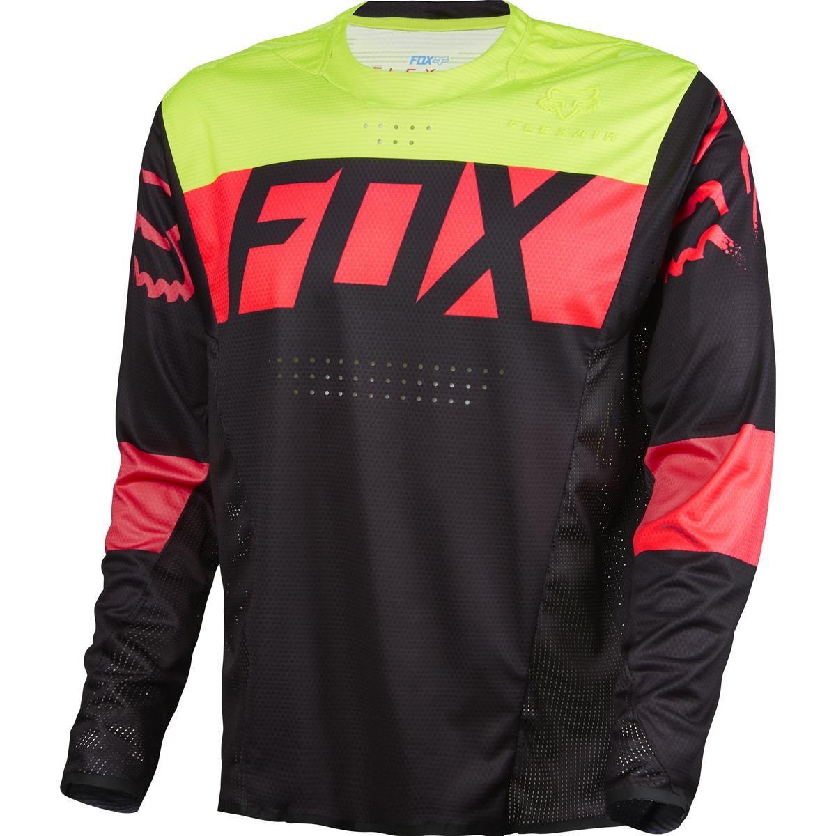 Fox Jersey Flexair Downhill Schwarz