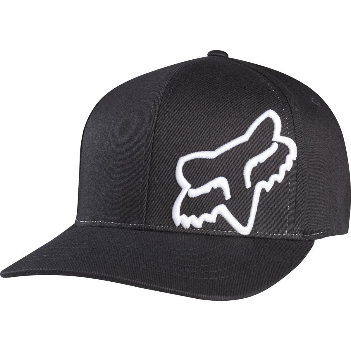 701538e30c3 Fox Flexfit Cap Flex 45 Black White