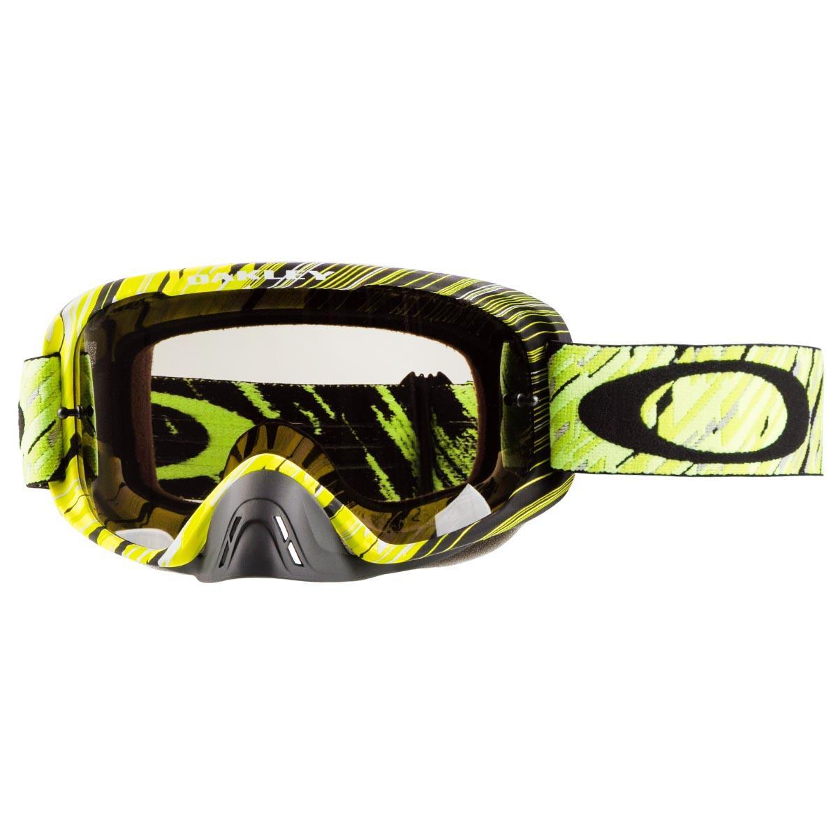 c766f22500 Oakley Goggle O2 MX Rain Of Terror Green Yellow - Dark Grey Spring ...