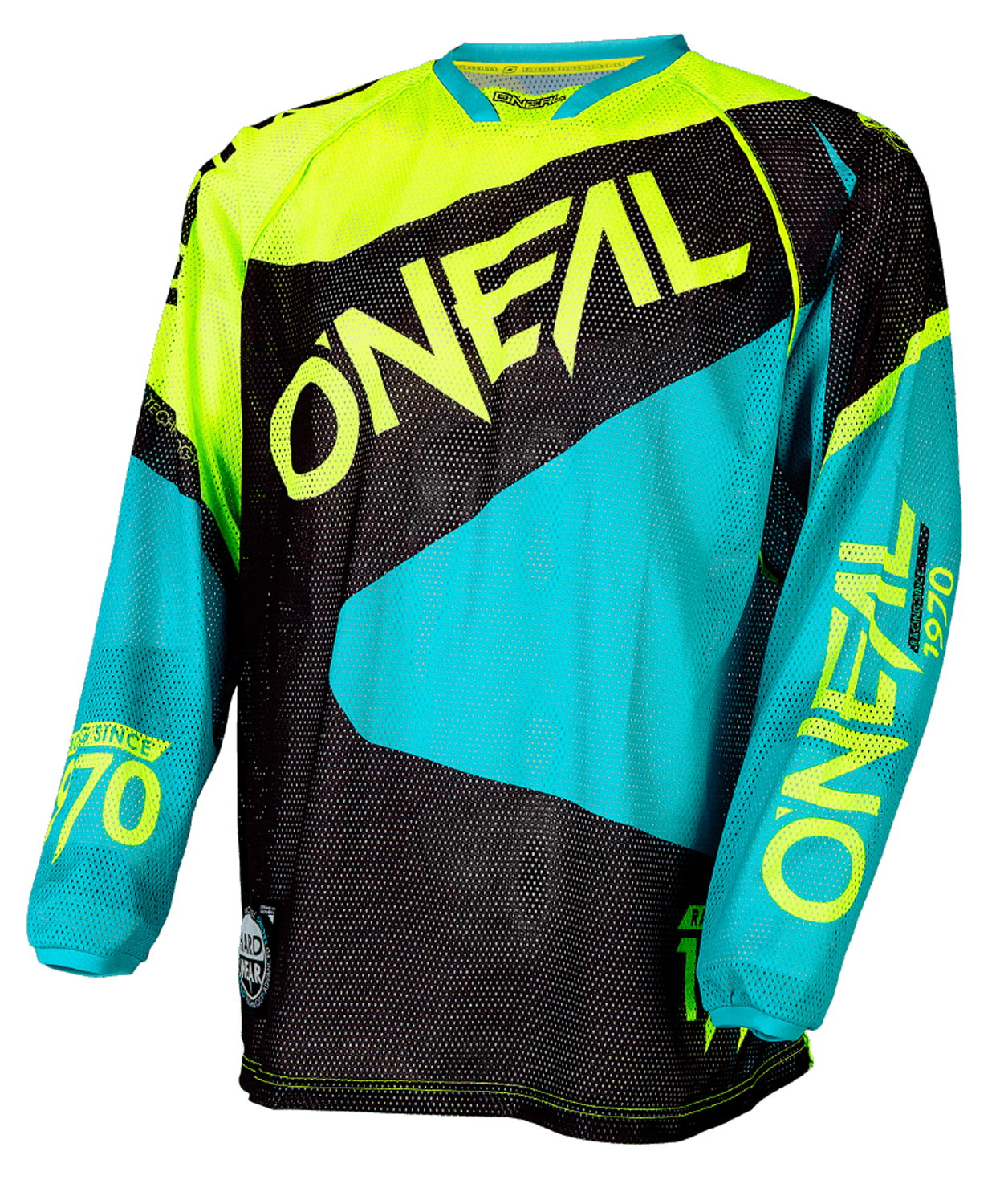 O´Neal Jersey Hardwear Gelb/Teal - Limited Edition Flow