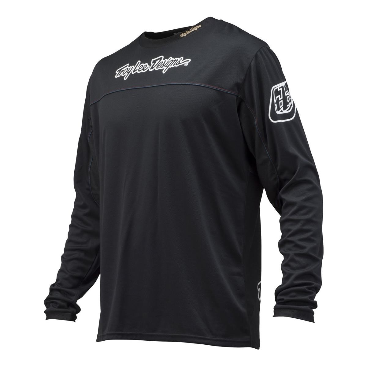 Troy Lee Designs Kids Jersey Sprint, XL, Schwarz