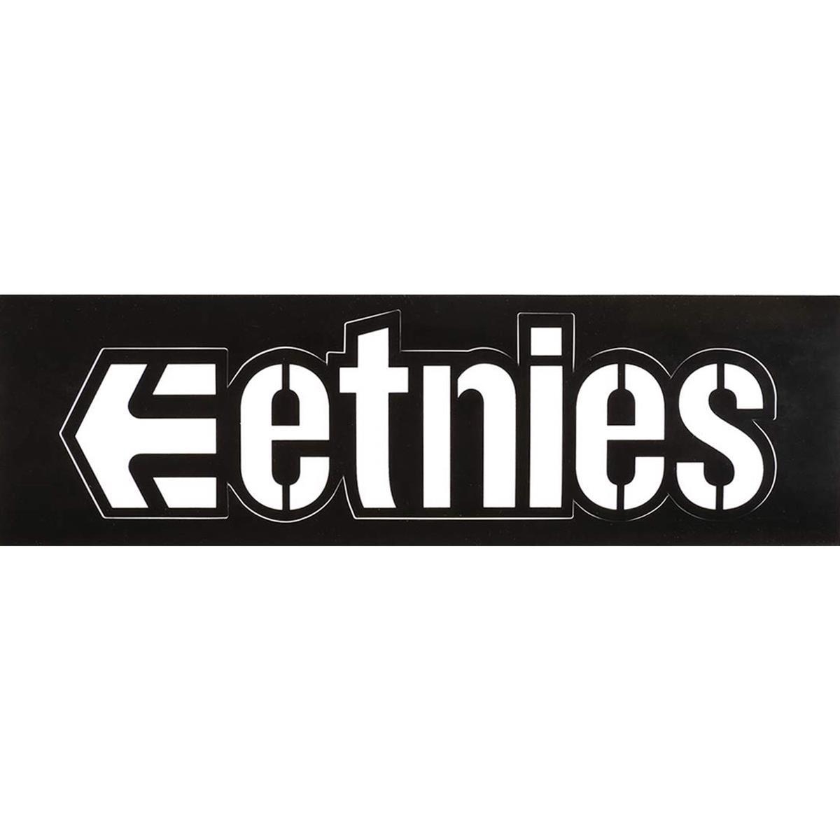 etnies sticker logo white schwarz maciag offroad