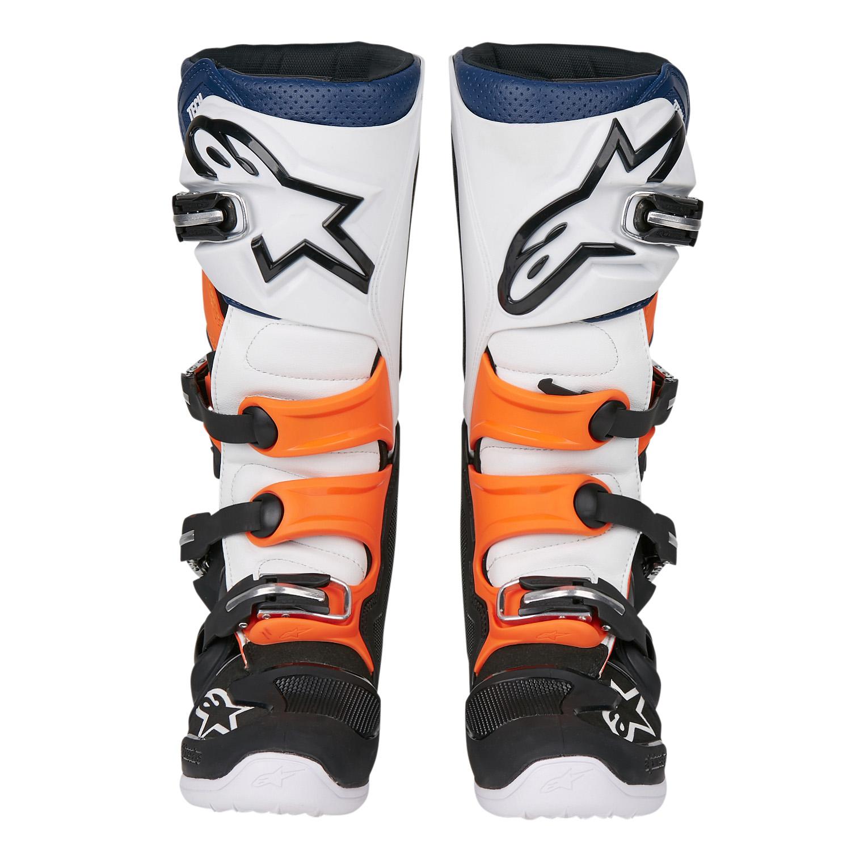 PrevNext. 1. 2. 3. 4. 5. 6. 7. PrevNext. Alpinestars Shop. Alpinestars MX  Boots Tech 7 Black Orange White Blue 50f2cdaa3eb2c