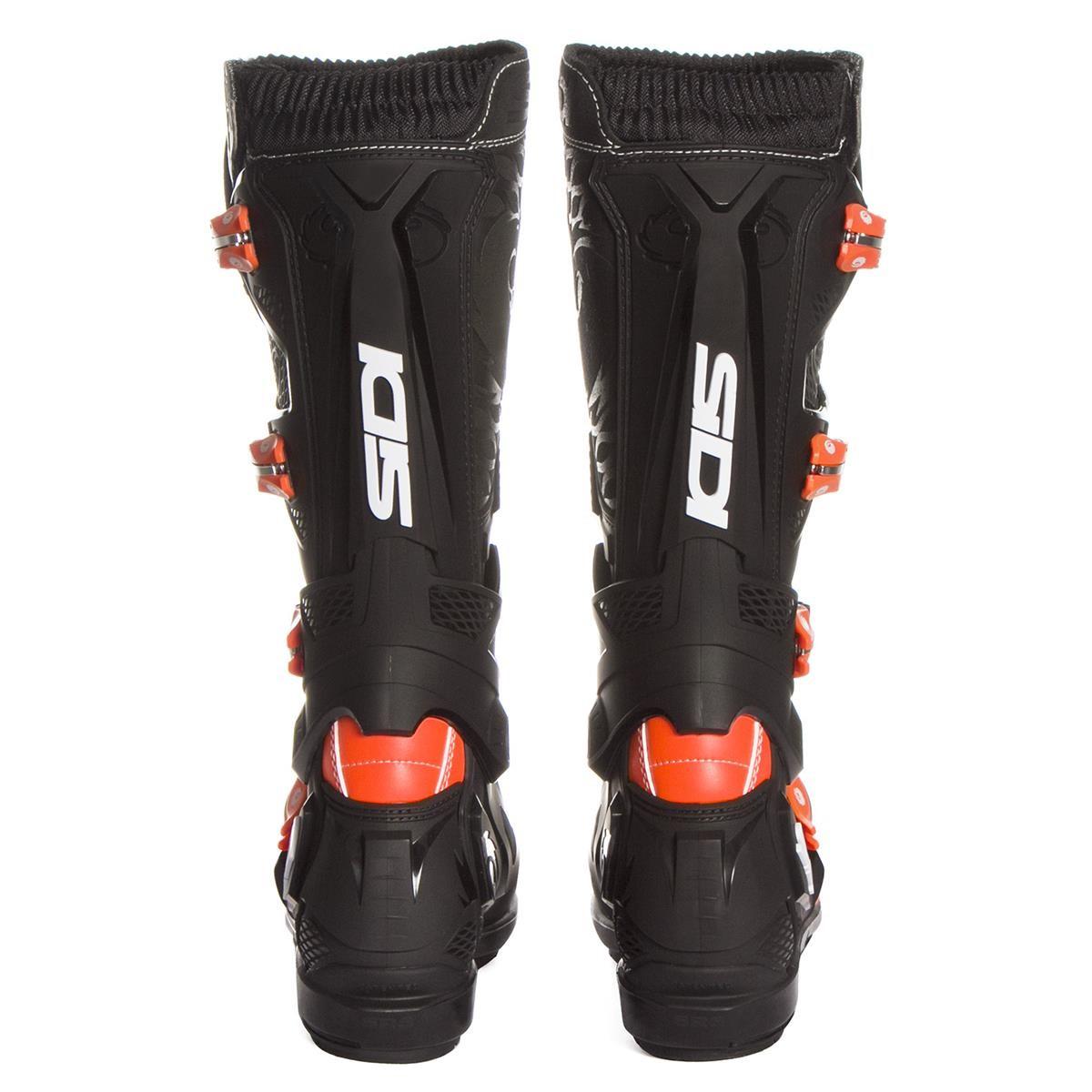 Sidi Motocross Stiefel X 3 SRS Orange FluoSchwarz
