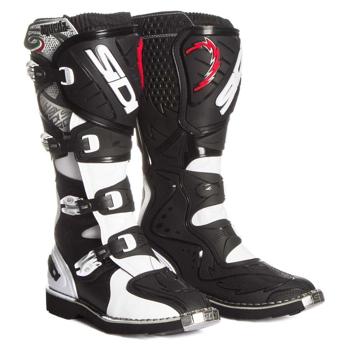 Sidi Agueda Motorcycle Boot Black Size 43