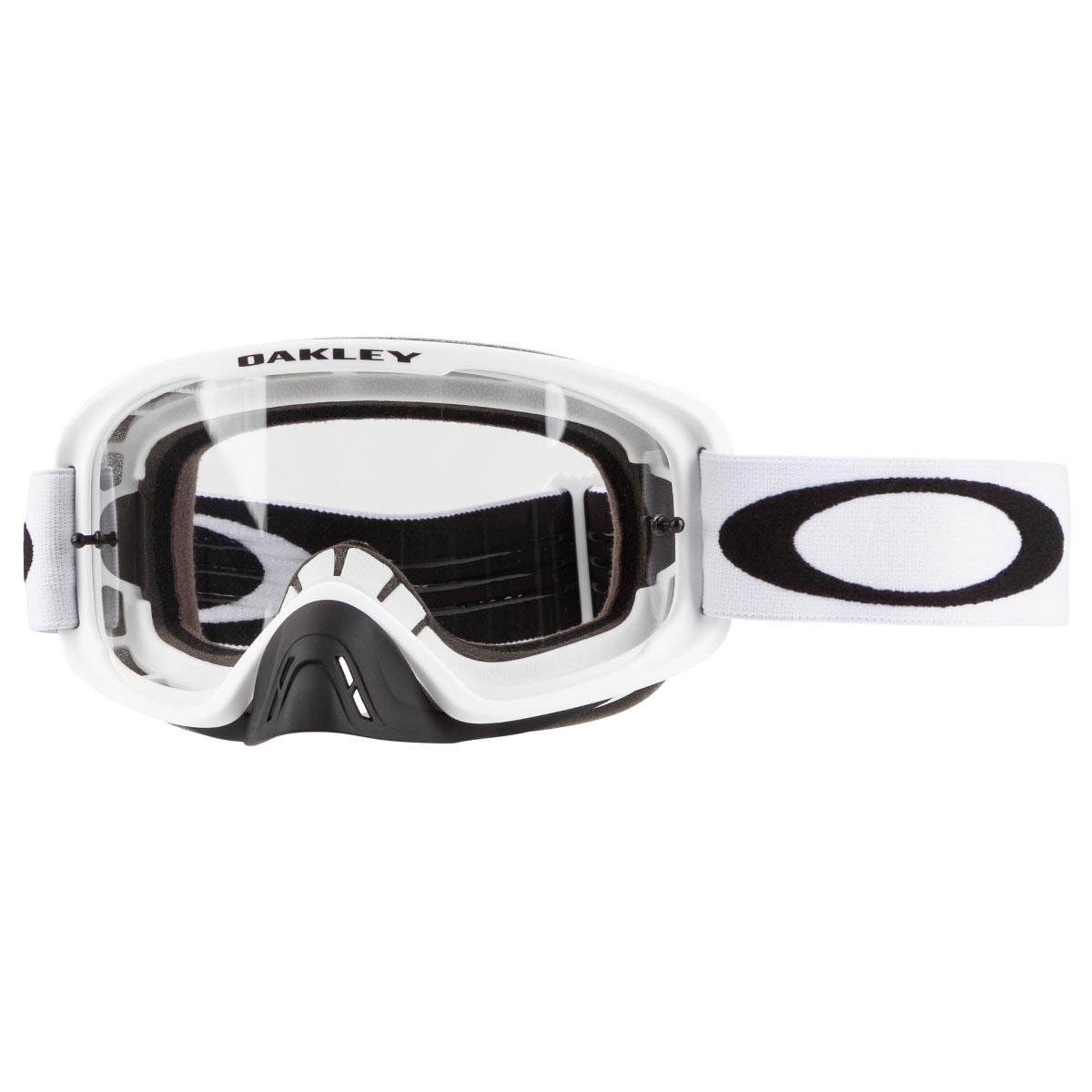 444cc829e5 Oakley Goggle O2 MX Matte White - Clear Spring 2018