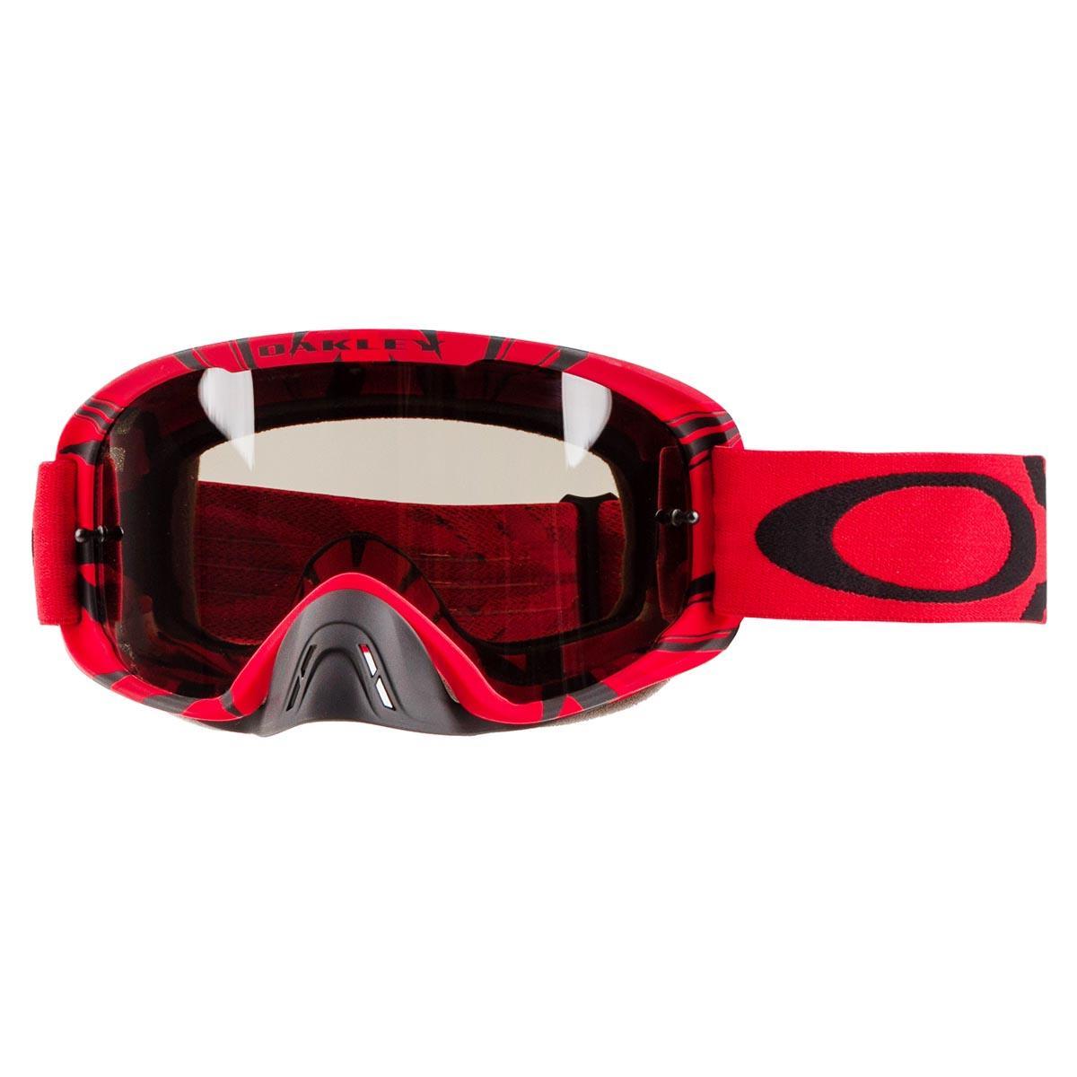 f7592e652f Oakley Goggle O2 MX Intimidator Blood Red - Dark Grey Spring 2018 ...