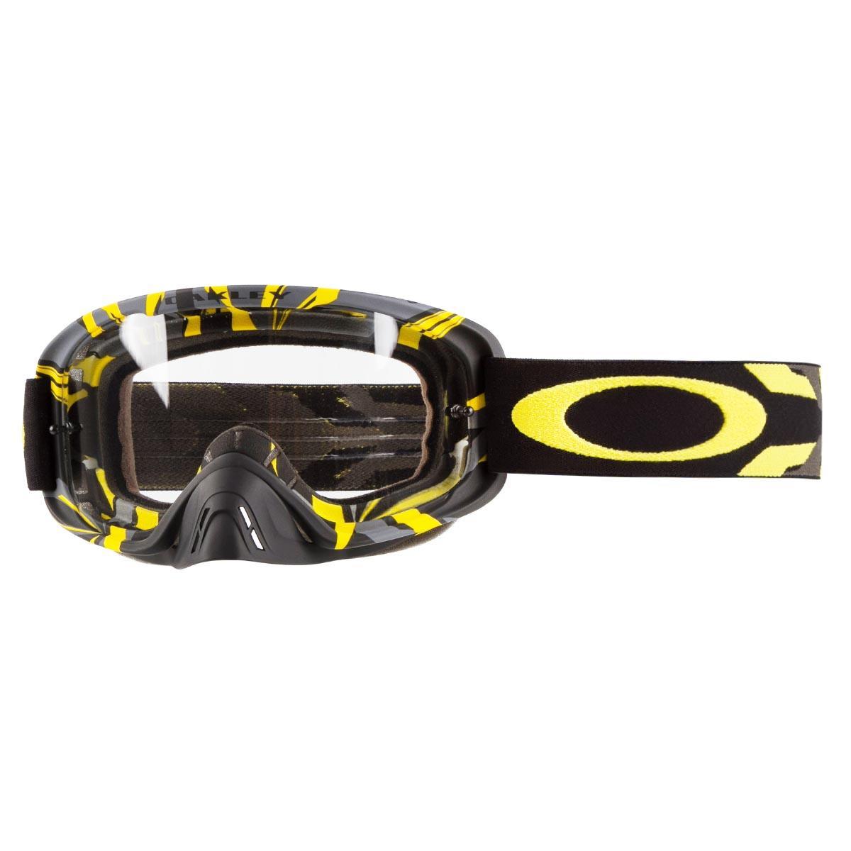 b1b6a66c1 Oakley Goggle O2 MX Intimidator Gun Metal Yellow - Clear Spring 2018 ...