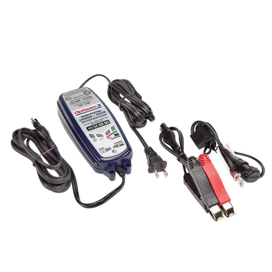 TecMate Batterie-Ladegerät Optimate 3 12 V, 3-50 Ah