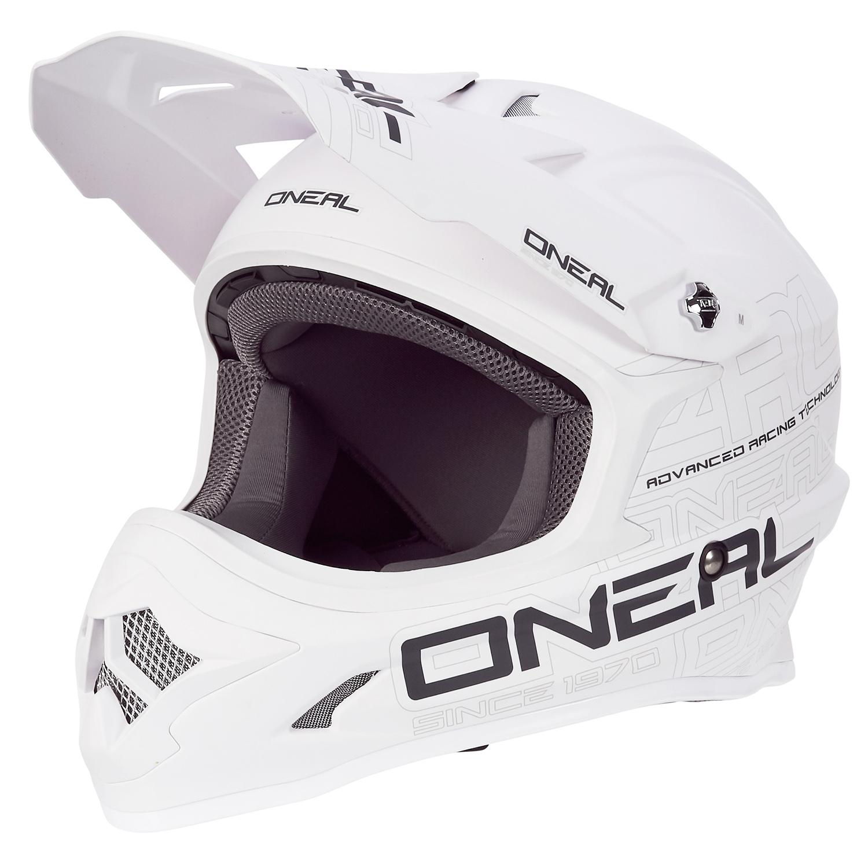 O'Neal Helm 3Series Flat Weiß