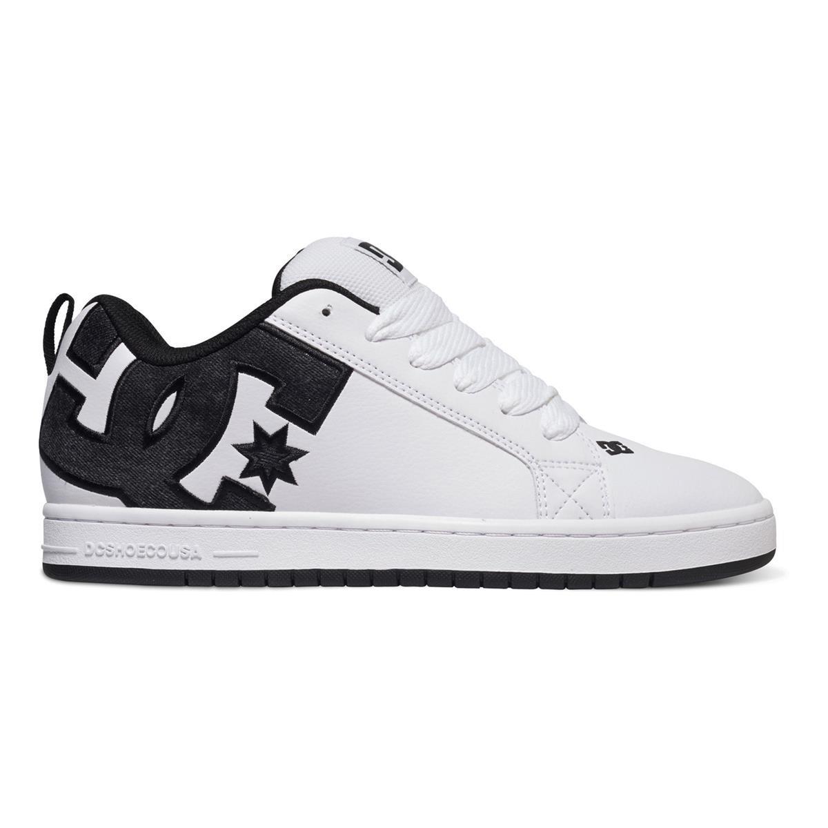 DC Schuhe Court Graffik SE SE Graffik Weiß/Grau/Schwarz 91a174
