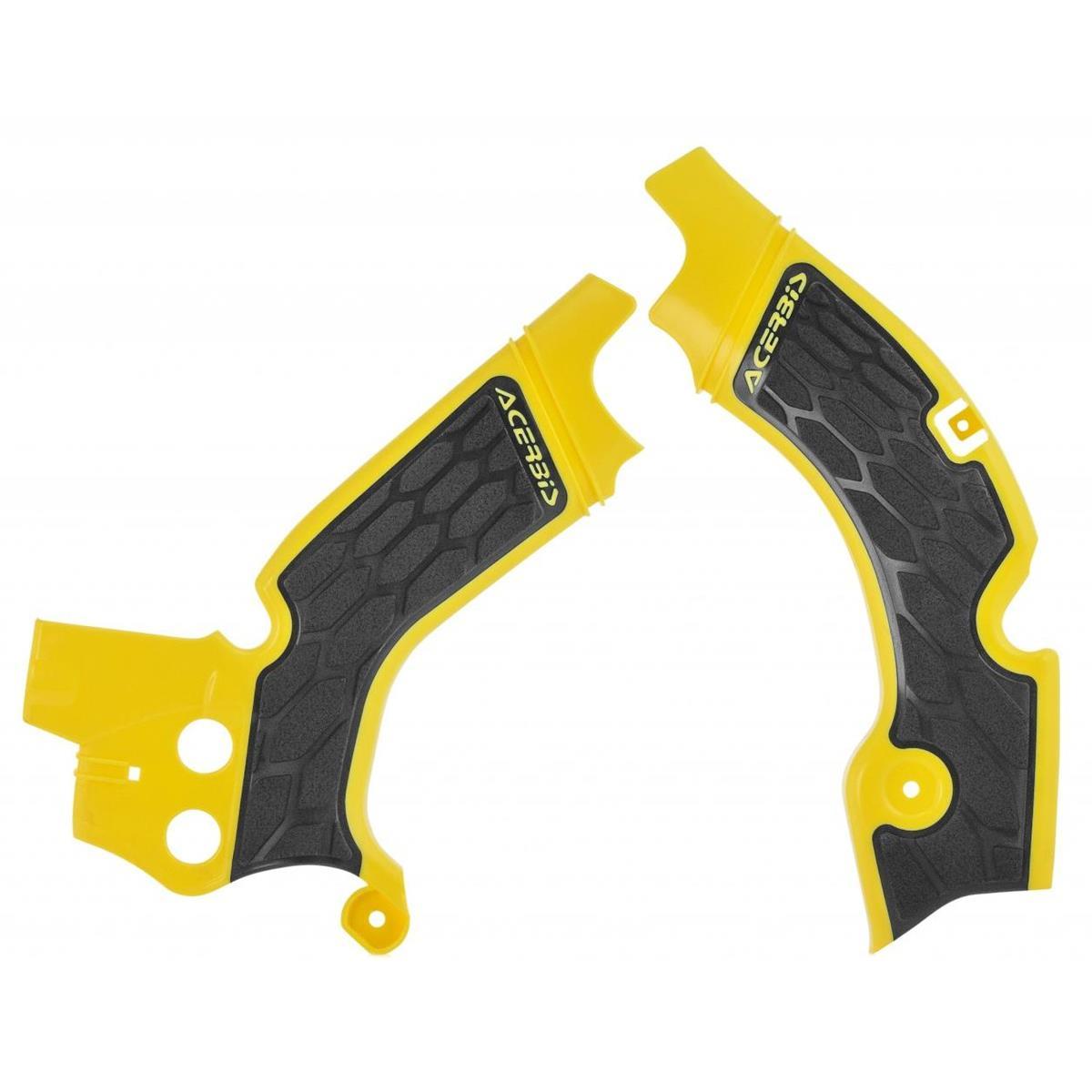 Acerbis Rahmenschutz X-Grip Suzuki RMZ 450 08-17, Gelb/Schwarz