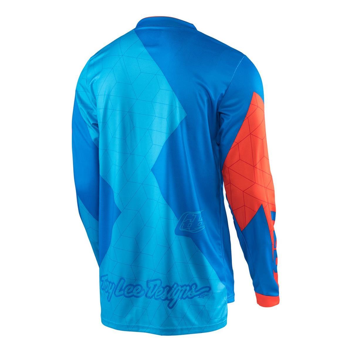 Troy Lee Designs Jersey GP Quest/ /Cyan//Orange
