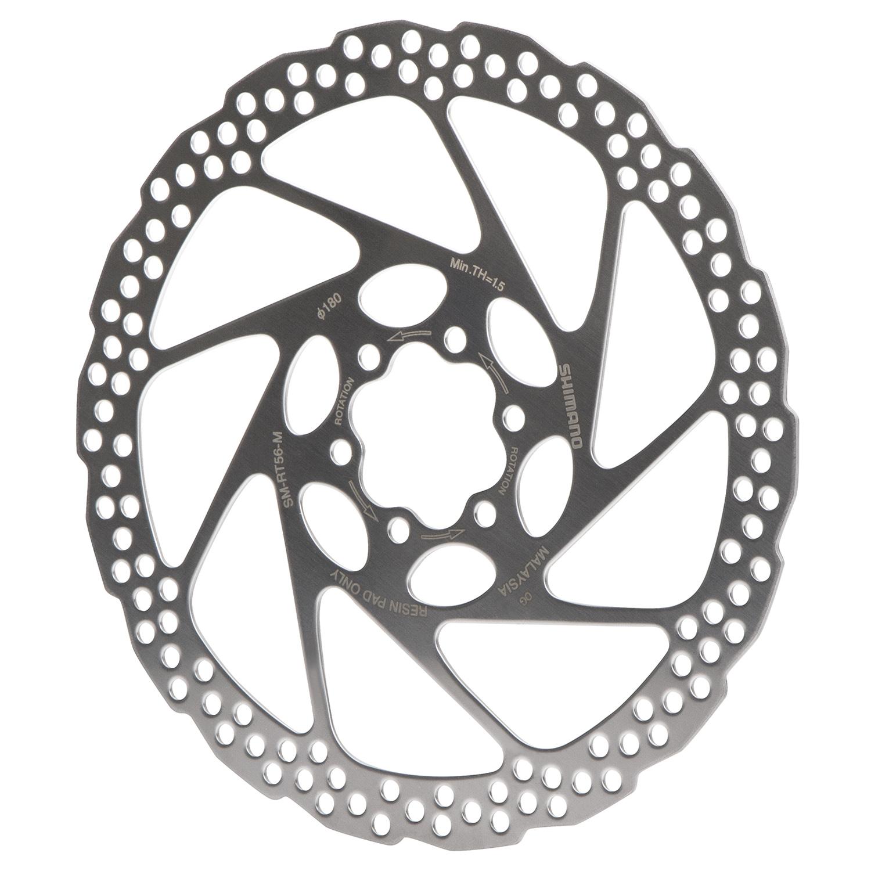 7fbb9f6bde4 Shimano MTB Brake Disc SM-RT 56 M 180 mm, 6-Holes, for BR-M 485 Standard |  Maciag Offroad