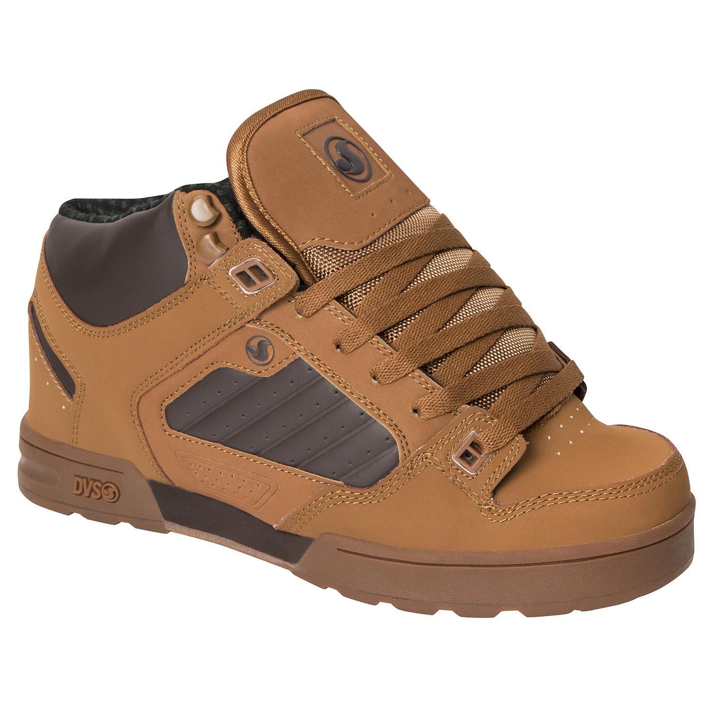 dvs winter shoes militia boot brown gum nubuck maciag
