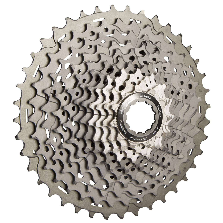 Shimano XTR CS-M9001 11-40T Bicycle Sprocket Cassette 11 speeds