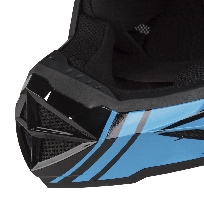 Fly Racing Racing Racing Downhill-MTB Helm Default Teal Rot 7dddfe