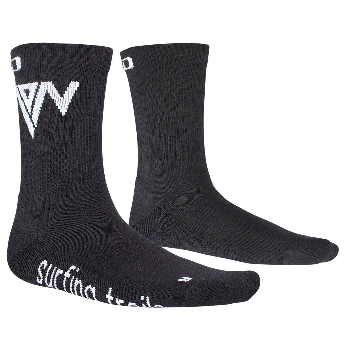 ION Socken Mid Pole Schwarz