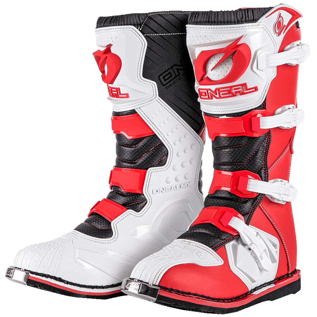 Cross Stiefel O'Neal Rider Rot Weiß