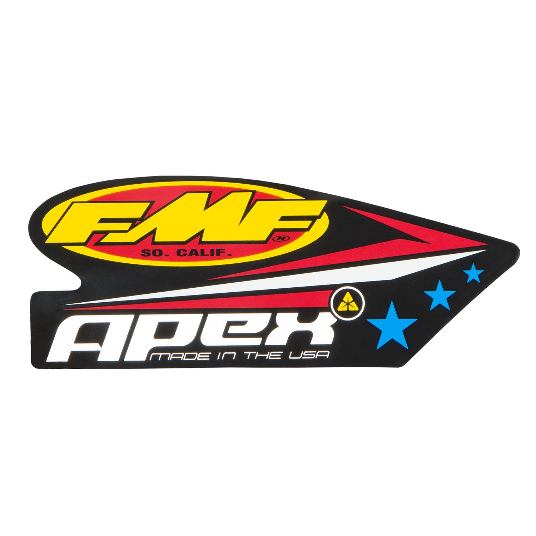 fmf silencer sticker apex maciag offroad