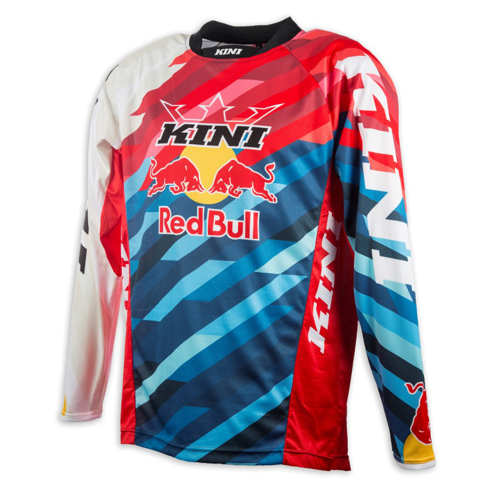 kini red bull jersey competition pro rot blau ebay. Black Bedroom Furniture Sets. Home Design Ideas