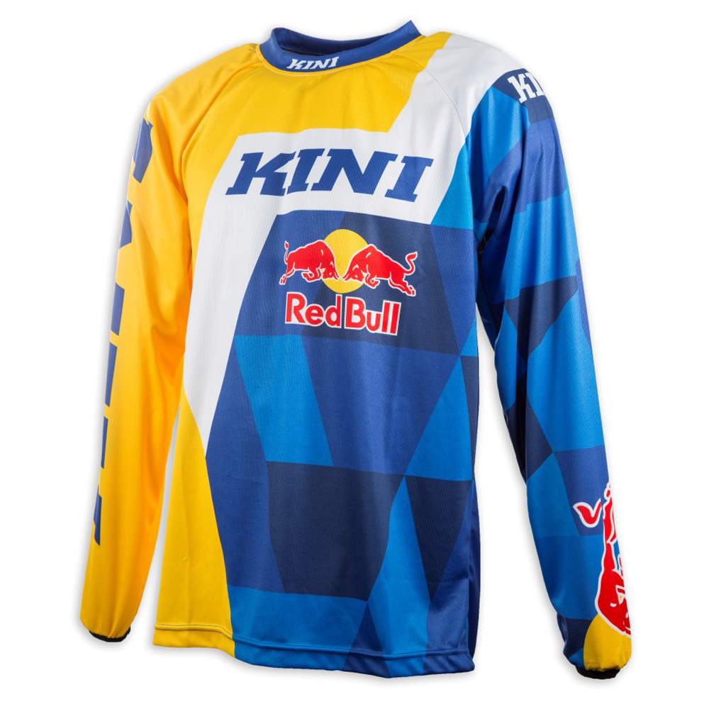 Kini Red Bull Jersey Vintage Navy/Gelb