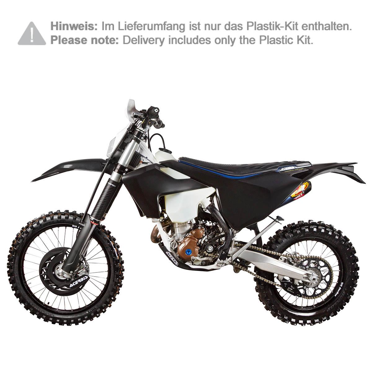 Acerbis Plastique-Kit Full-Kit HUSQVARNA TE 125//250//300 FE 250//350//450//501 17-18,