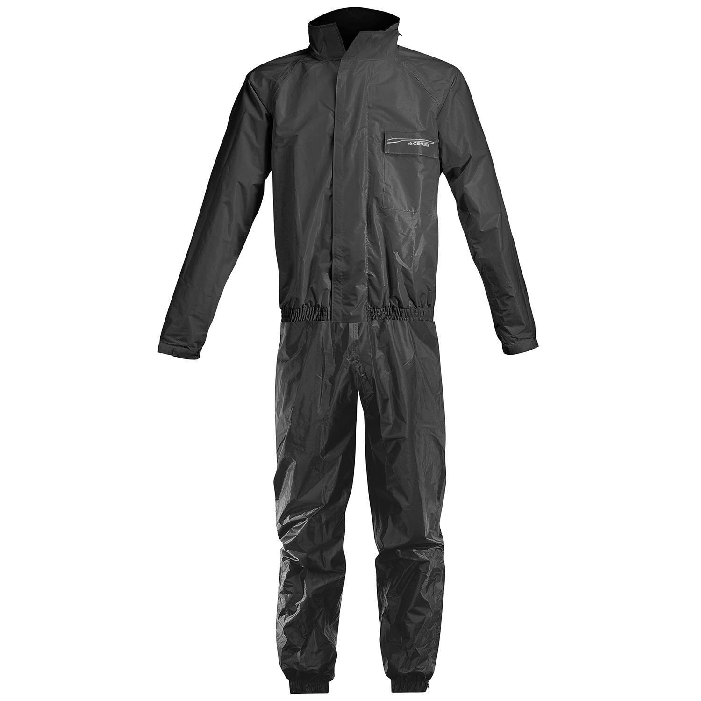 Acerbis Regen-Set Rain Suit Logo Schwarz
