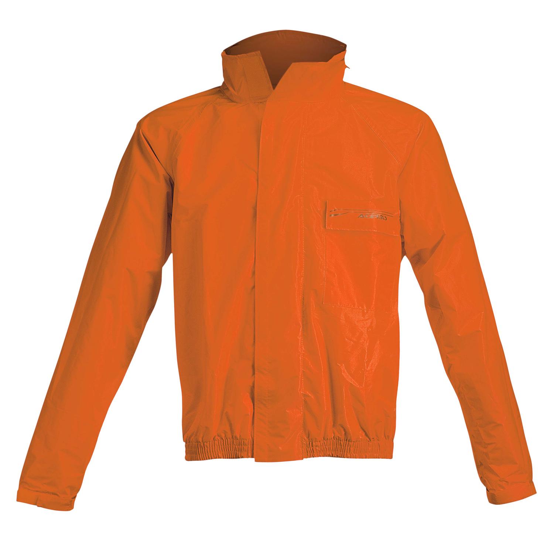 Acerbis Regen-Set Rain Suit Logo Fluo Orange/Schwarz