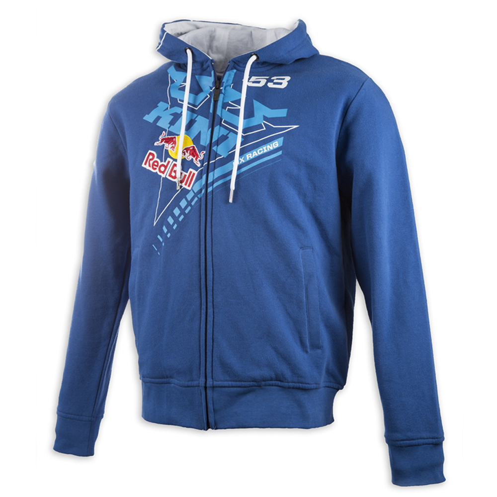 kini red bull zip hoody ribbon navy wei maciag offroad. Black Bedroom Furniture Sets. Home Design Ideas