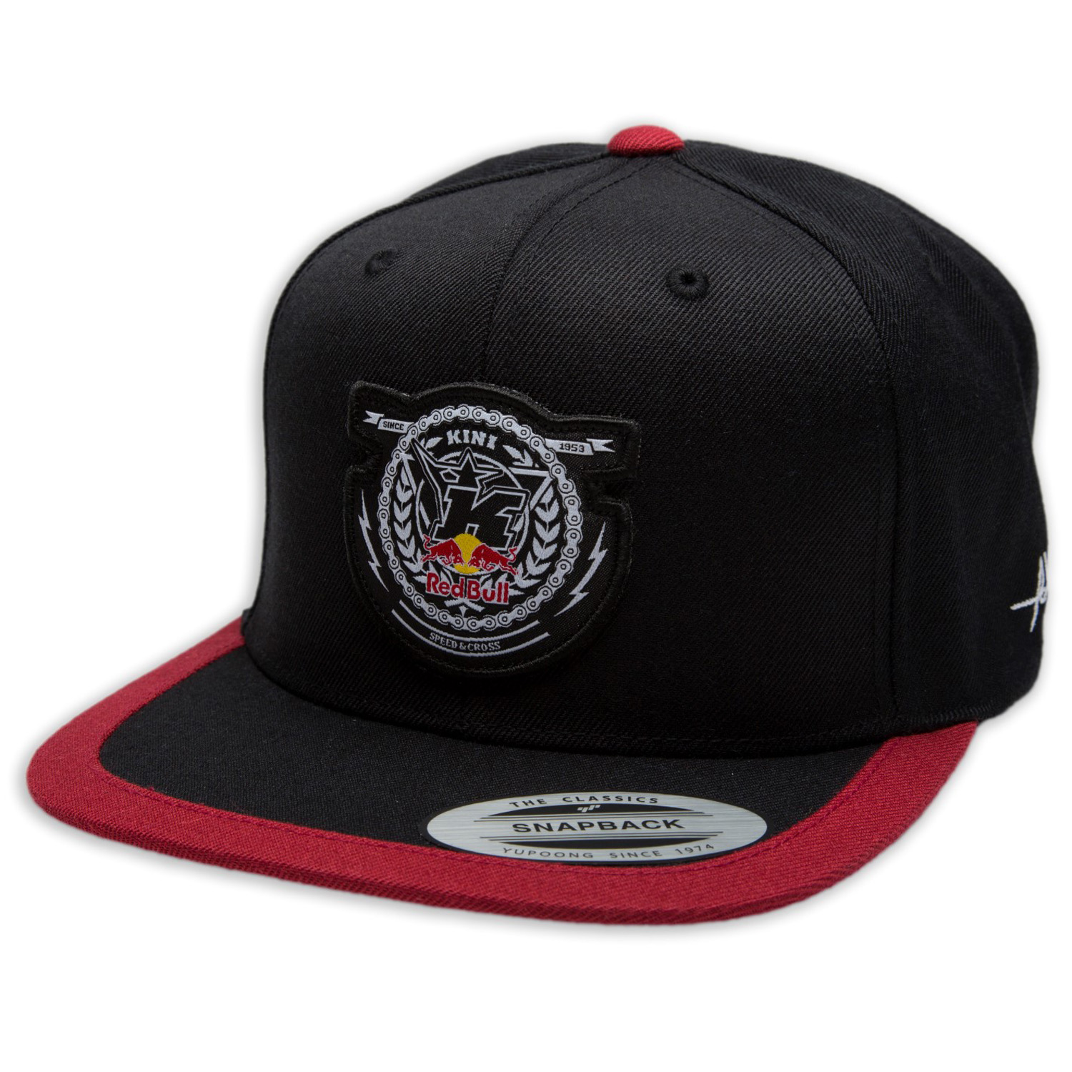 Kini Red Bull Cap Crest Black Red  7c1b346d11
