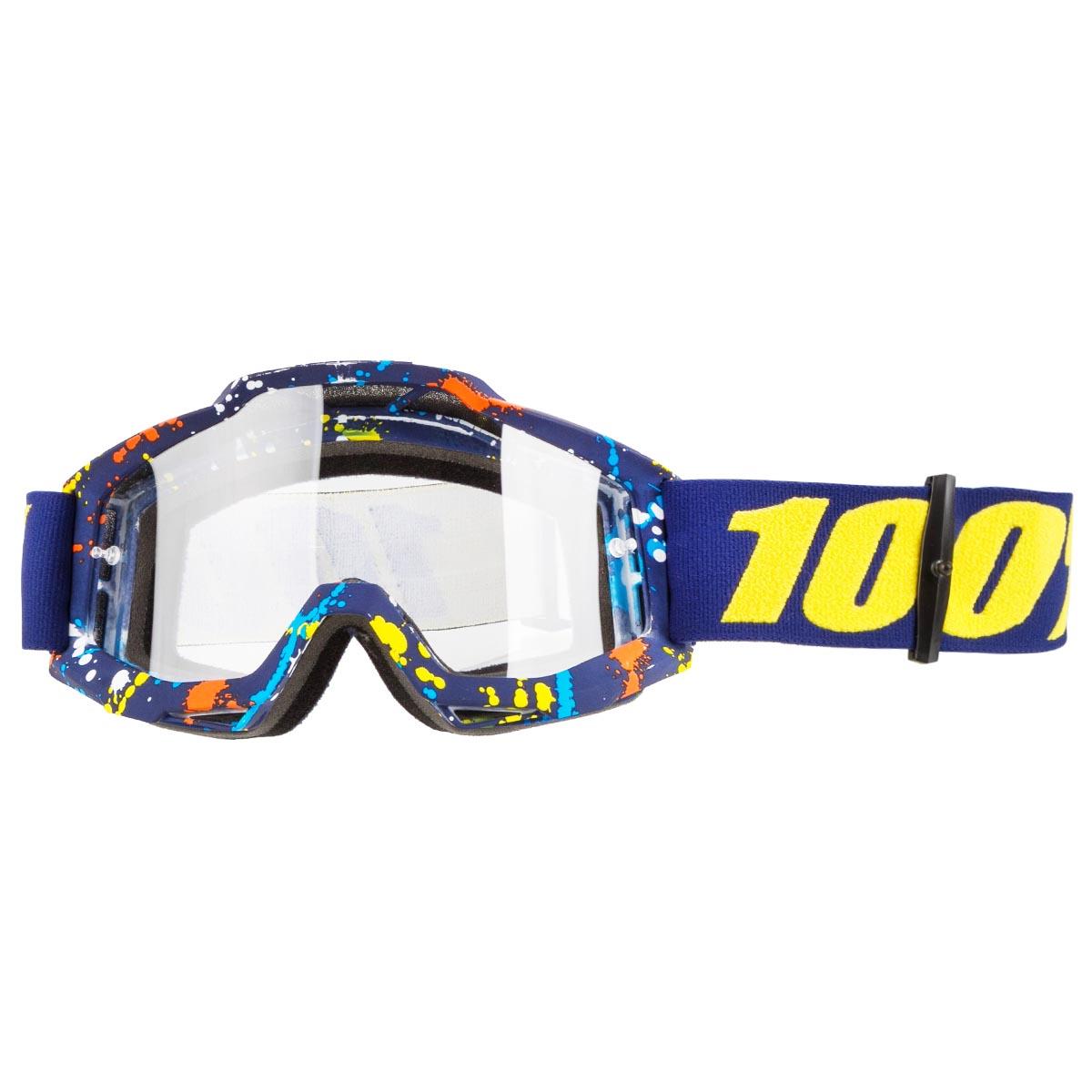 100% Crossbrille The Accuri Pollok - Klar Anti-Fog