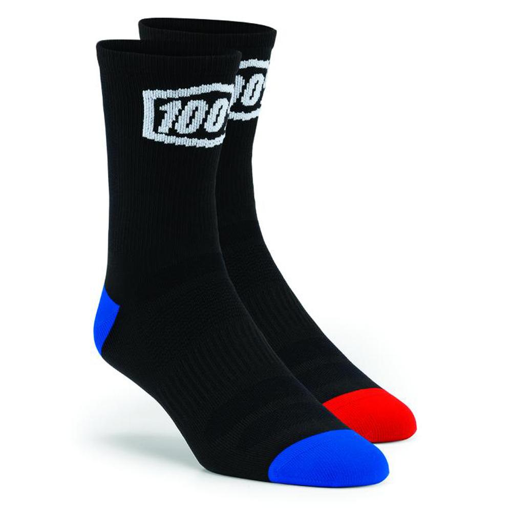 100% Socken Terrain Schwarz