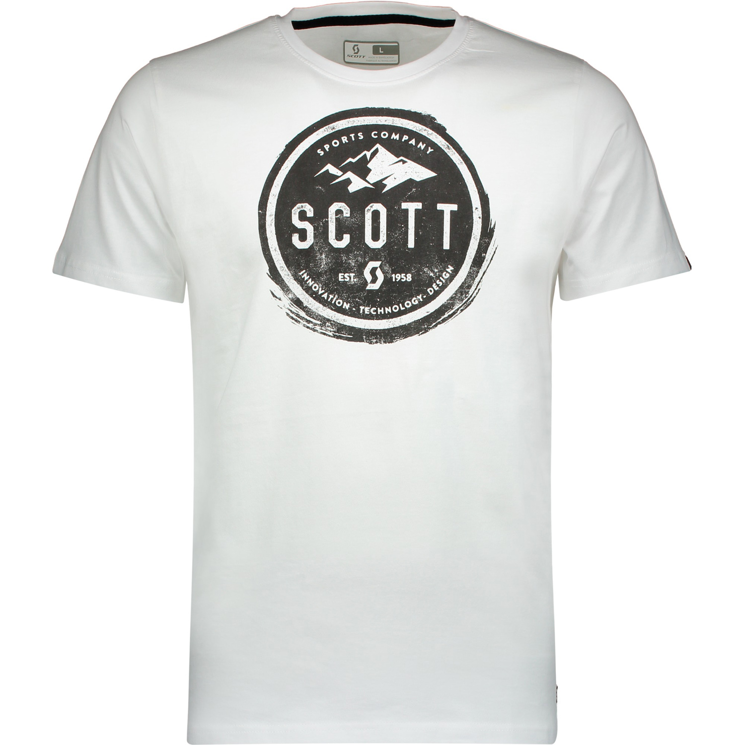 Scott T-Shirt 20 Casual Weiß